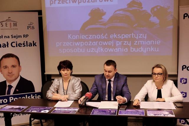 Poseł Michał Cieślak