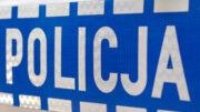 """napis """"Policja"""""""